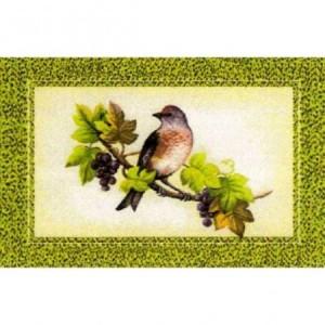 Наволочка Птица с виноградом - Гобелен
