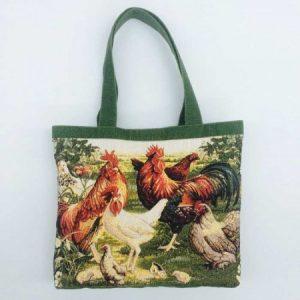 Гобеленовая сумка Птичий дворик