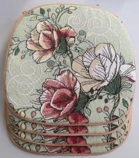 Комплект чехлов на стул Три розы (4 шт)