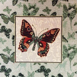 Наволочка Зеленая бабочка