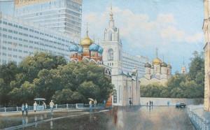 Панно Москва Златоглавая (120*73)