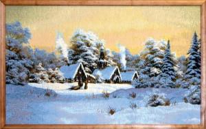 Зима (88*55) Россия.